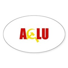 ACLU - Oval Decal