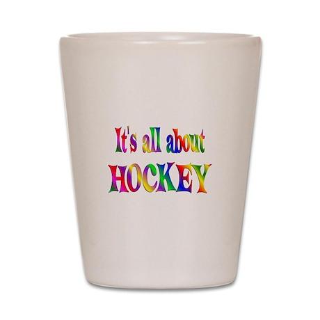 About Hockey Shot Glass