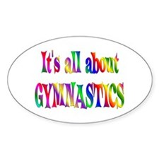 About Gymnastics Decal