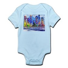 I Heart Colorful NYC Infant Bodysuit