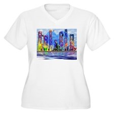 I Heart Colorful NYC T-Shirt