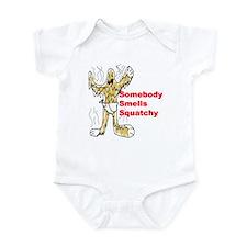 Somebody Smells Squatchy (Infant Bodysuit)