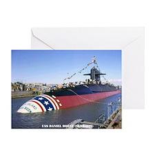 USS DANIEL BOONE Greeting Card