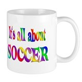 About Soccer Small Mug