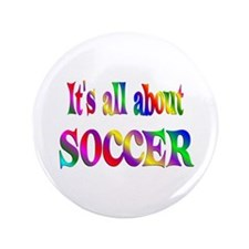 "About Soccer 3.5"" Button (100 pack)"