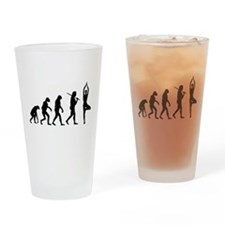 The Evolution Of Yoga Pint Glass