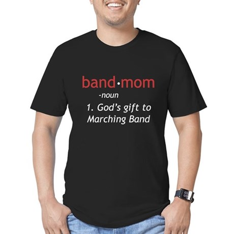 Definition of a Band Mom Men's Fitted T-Shirt (dar