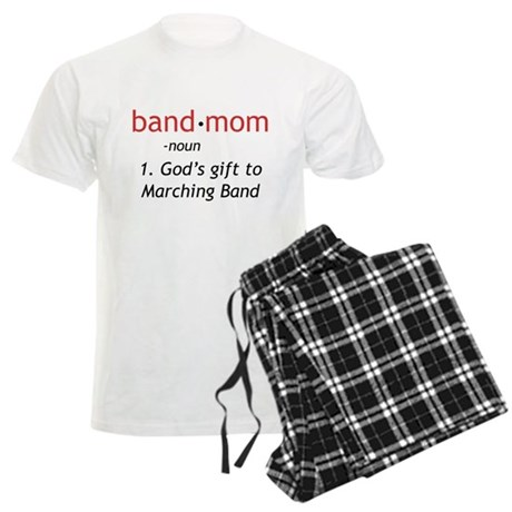 Definition of a Band Mom Men's Light Pajamas