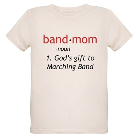 Definition of a Band Mom Organic Kids T-Shirt