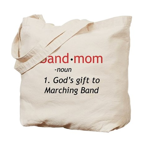 Definition of a Band Mom Tote Bag