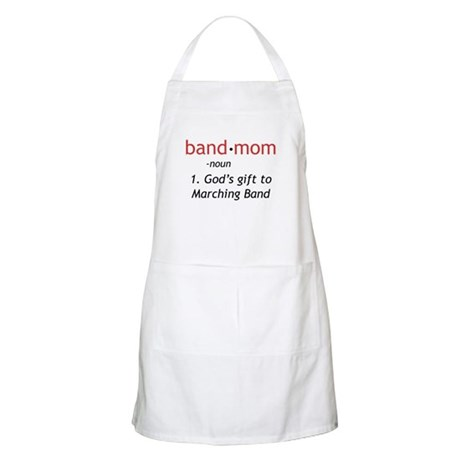 Definition of a Band Mom Apron