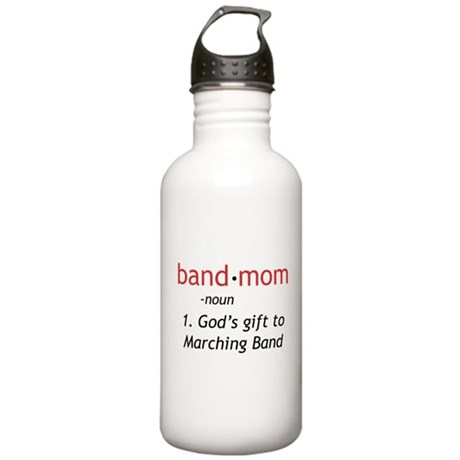 Definition of a Band Mom Stainless Water Bottle 1.