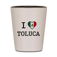 I Love Toluca T-Shirts Shot Glass