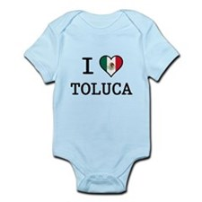 I Love Toluca T-Shirts Infant Bodysuit