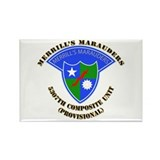 SOF - Merrills Marauders Rectangle Magnet