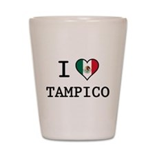 I Love Tampico Shot Glass