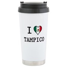 I Love Tampico Ceramic Travel Mug