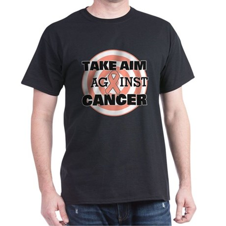 Take Aim - Uterine Cancer Dark T-Shirt