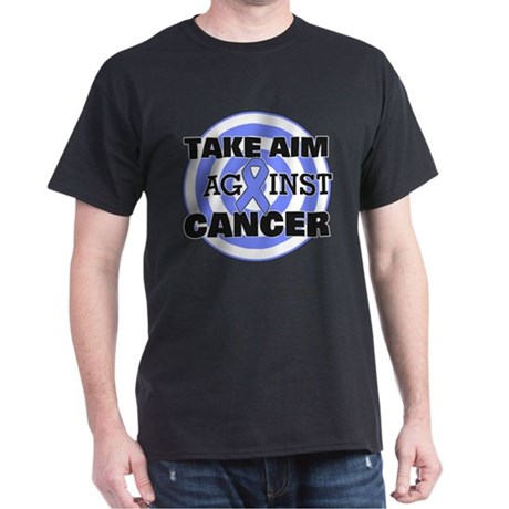 Take Aim - Stomach Cancer Dark T-Shirt