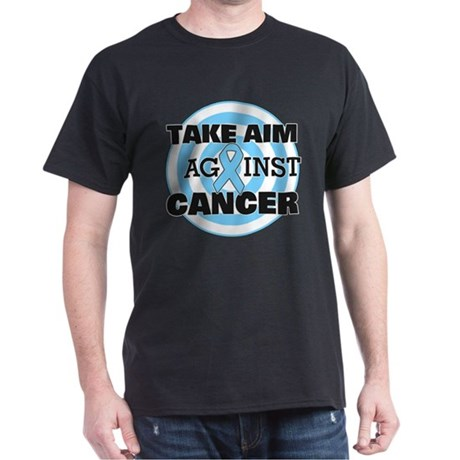 Take Aim - Prostate Cancer Dark T-Shirt
