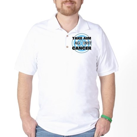 Take Aim - Prostate Cancer Golf Shirt