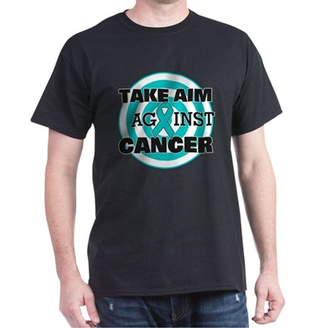 Take Aim - Ovarian Cancer Dark T-Shirt
