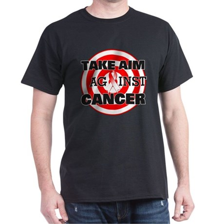 Take Aim - Oral Cancer Dark T-Shirt