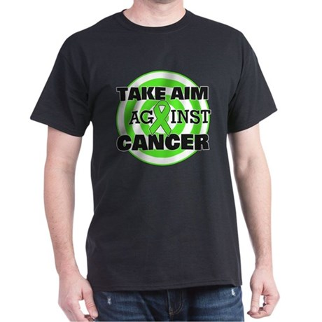 Take Aim - Non-Hodgkin's Lymphoma Dark T-Shirt