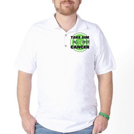 Take Aim - Non-Hodgkin's Lymphoma Golf Shirt