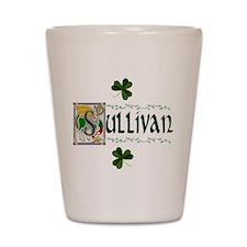 Sullivan Celtic Dragon Shot Glass