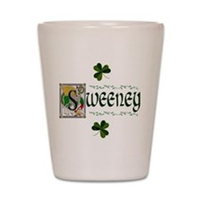 Sweeney Celtic Dragon Shot Glass
