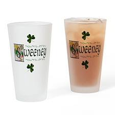 Sweeney Celtic Dragon Pint Glass