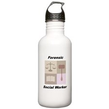 Forensic Social Worker Water Bottle