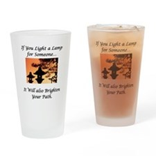 Light a Lamp... Pint Glass