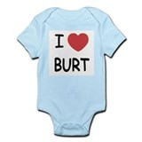 I heart burt Onesie