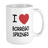 I heart borrego springs Mug