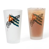 Cuba Libre Cuban Flag Pint Glass