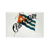 Cuba Libre Cuban Flag Rectangle Magnet (10 pack)