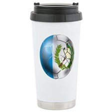 Guatemala Football Ceramic Travel Mug