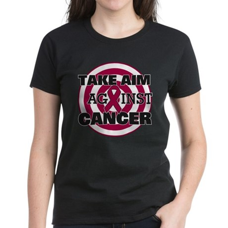 Take Aim - Multiple Myeloma Women's Dark T-Shirt