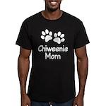 Cute Chiweenie Mom Men's Fitted T-Shirt (dark)