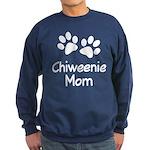 Cute Chiweenie Mom Sweatshirt (dark)