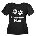 Cute Chiweenie Mom Women's Plus Size Scoop Neck Da
