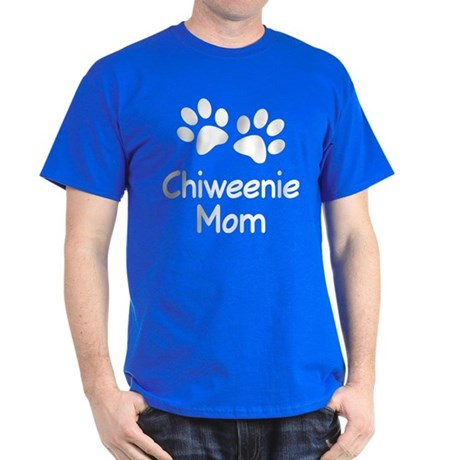 Cute Chiweenie Mom Dark T-Shirt