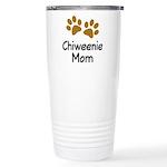 Cute Chiweenie Mom Ceramic Travel Mug