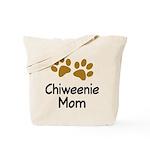 Cute Chiweenie Mom Tote Bag