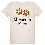 Cute Chiweenie Mom Organic Kids T-Shirt