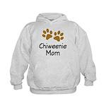 Cute Chiweenie Mom Kids Hoodie