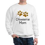 Cute Chiweenie Mom Sweatshirt