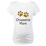 Cute Chiweenie Mom Maternity T-Shirt